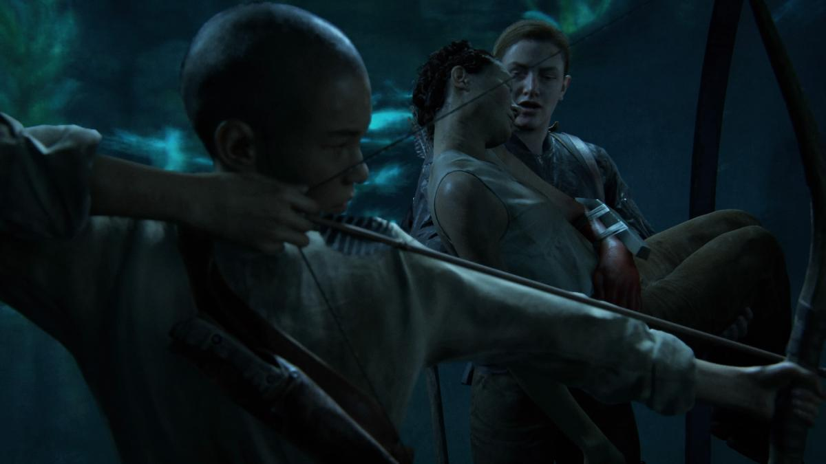 Лев - один из персонажей Part II / скриншот