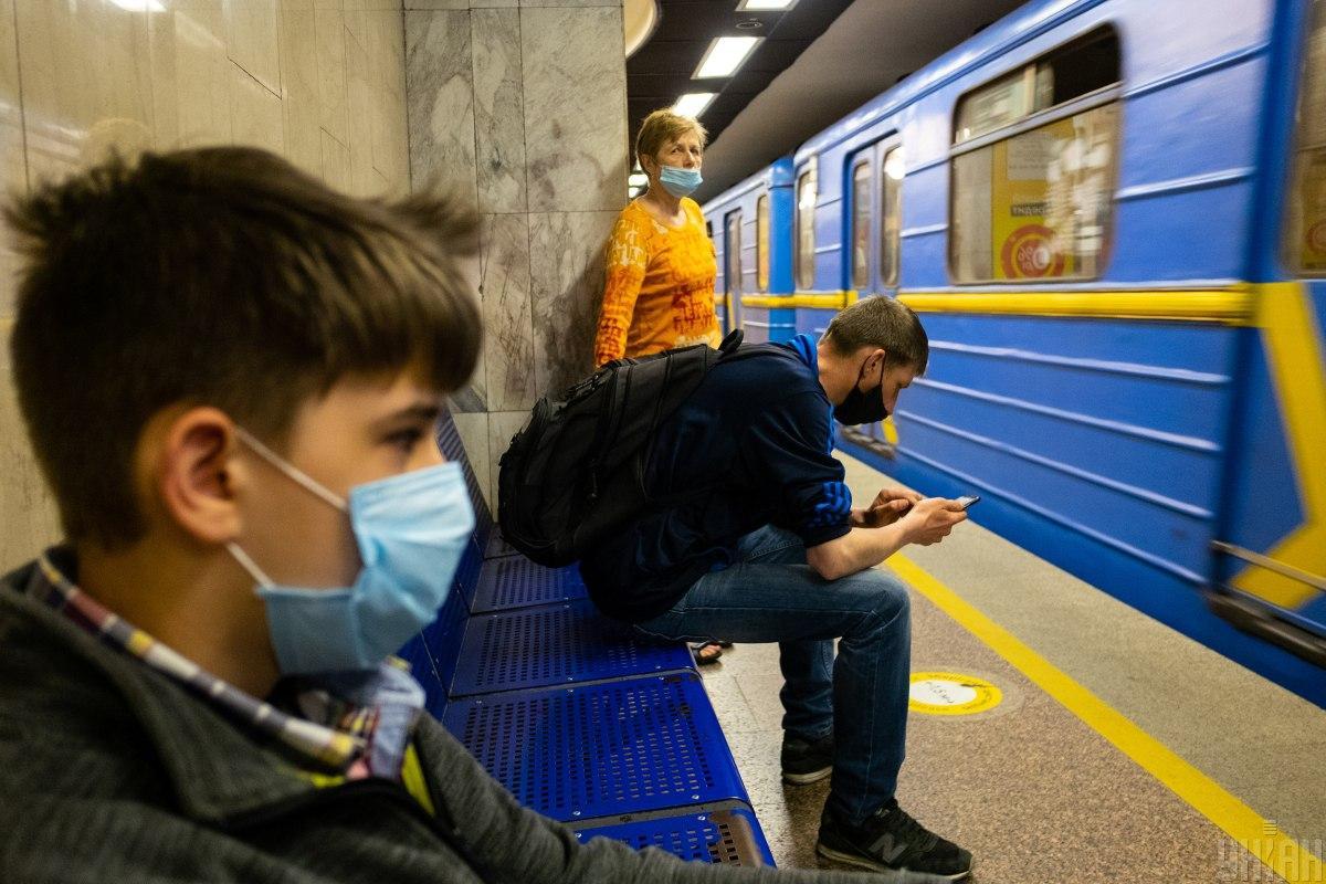 Станції метро в самому центрі Києва закриті / Фото УНІАН