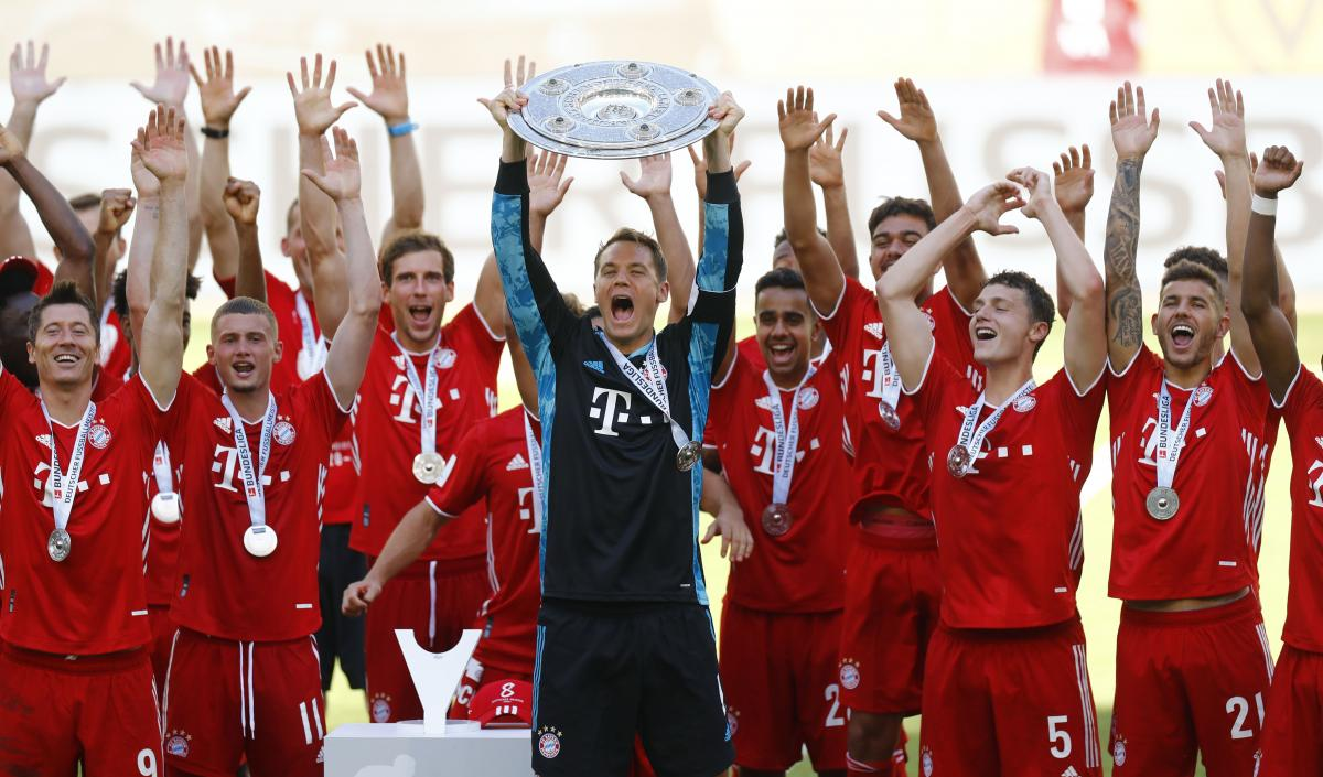 Бавария - чемпион Германии / фото REUTERS