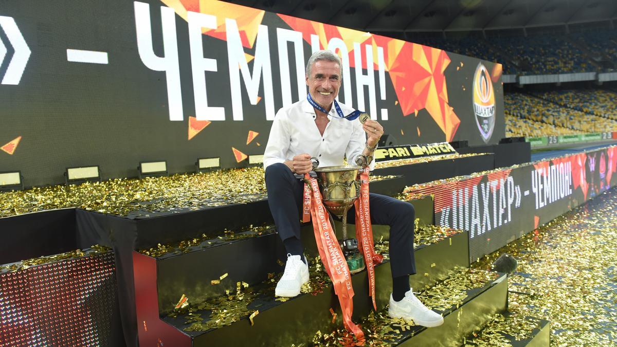 Луїш Каштру виграв з Шахтарем один трофей/ фото ФК Шахтар