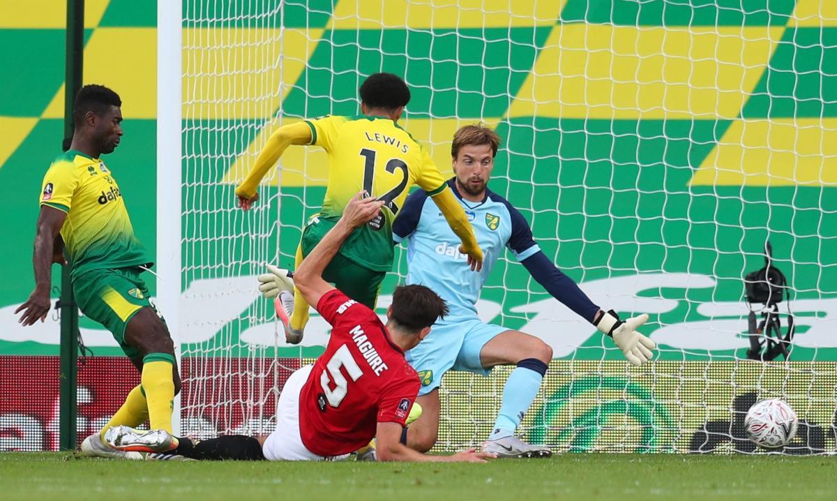 Норвіч - Манчестер Юнайтед / фото REUTERS