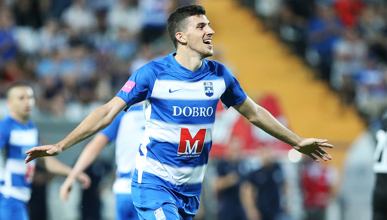 Мирко Марич забил 19 голов в чемпионате Хорватии / фото nk-osijek.hr