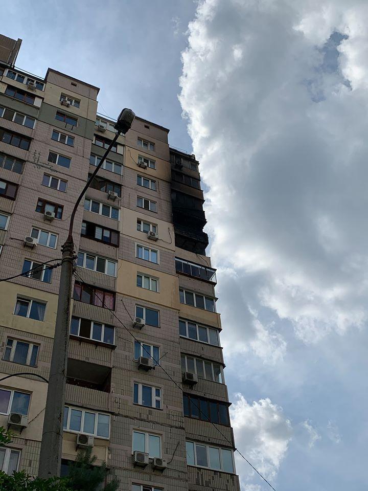 Пожар ликвидировали / фото Тамара Кудрявченко