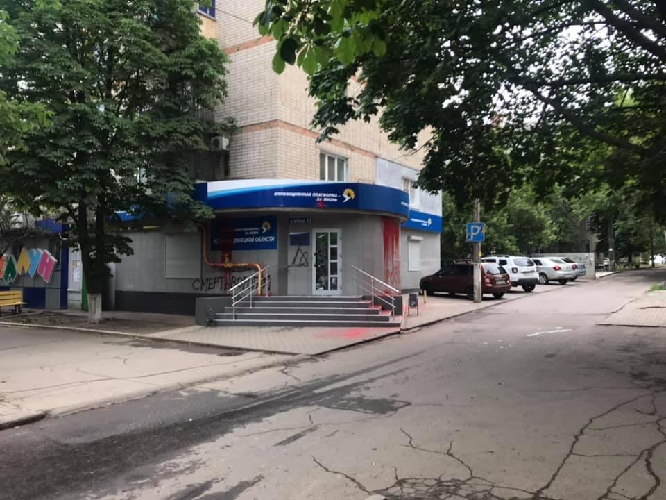 Также там выбито стекло / facebook.com/den.kazansky