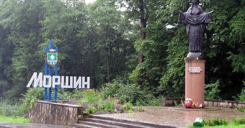 В Моршине ливень затопил четыре санатория/ фото соцсети