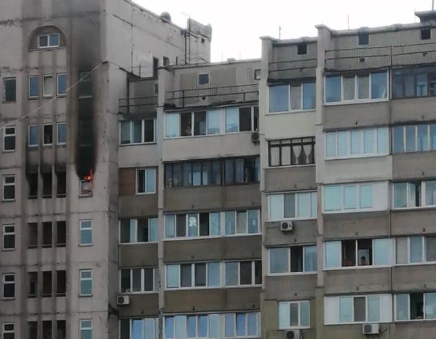 Загорілася ще одна багатоповерхівка / Ксюша Заблоцкая / Facebook