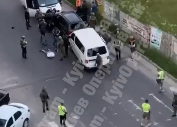 Задержание произошло сегодня утром / скриншот видео