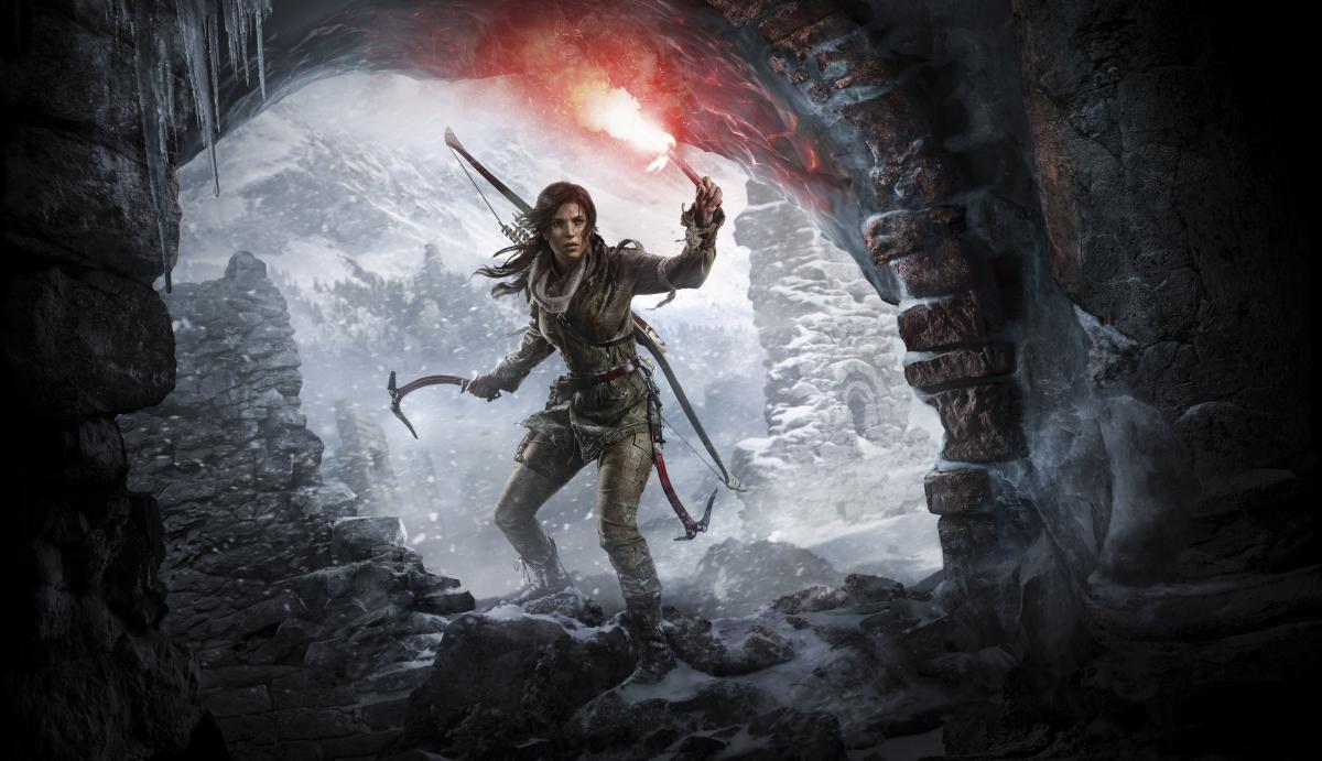 Лара Крофт в грі Tomb Raider / фото Crystal Dynamics