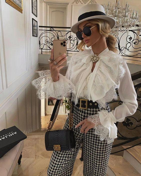 Блузы в викторианском стиле / фото pinterest.com
