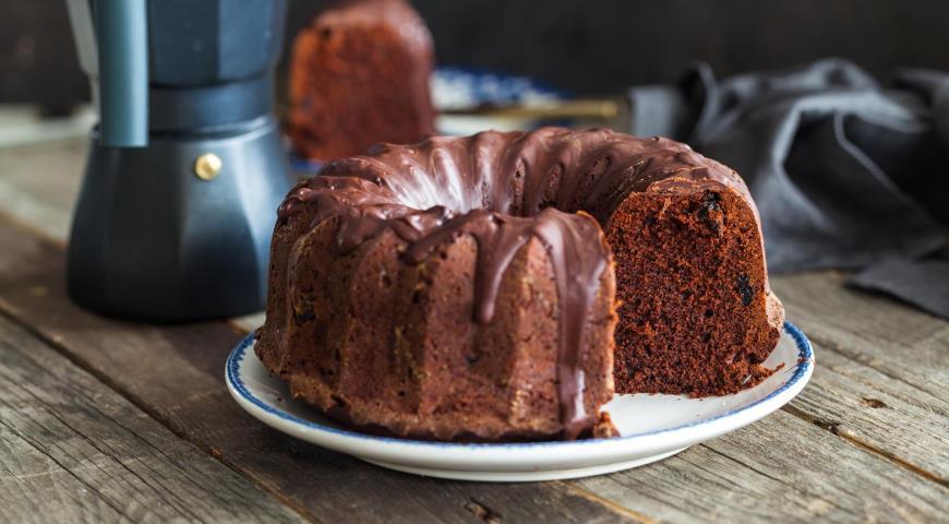 Как приготовить шоколадно-банановый кекс / фото gastronom.ru