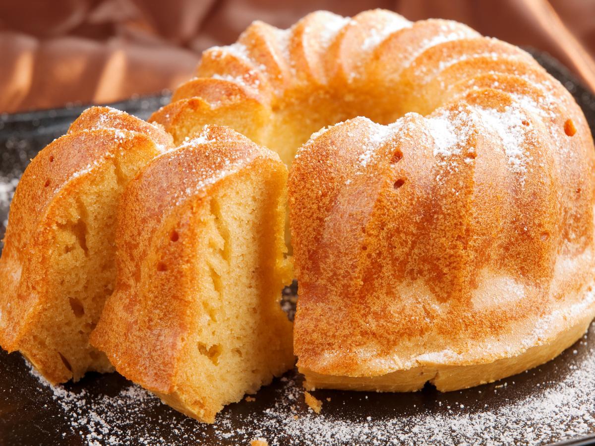 Выпечка на кислом молоке- кекс и пирог / фото ua.depositphotos.com