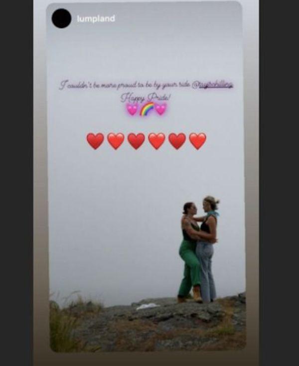 Тейлор Шиллинг с возлюбленной / фото instagram.com/tayjschilling