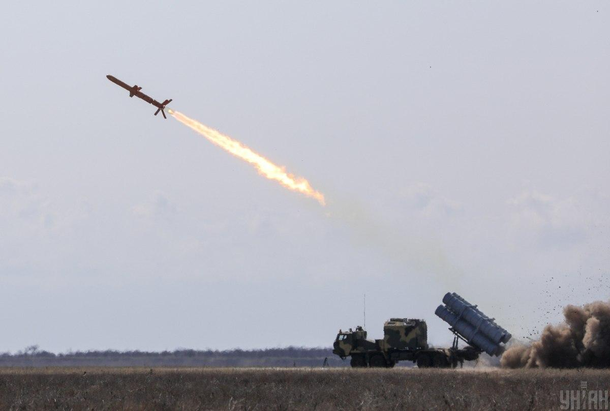 """Ракетный комплекс """"Нептун""""может быть принят на вооружение ВСУ через полтора месяца / фото УНИАН"""