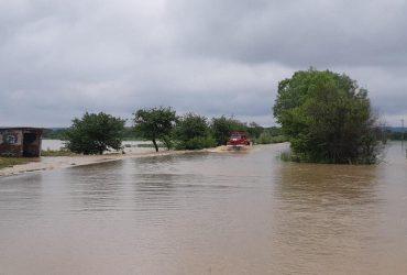 На Львовщине объявили штормовое предупреждение из-за повышения уровня воды в реках