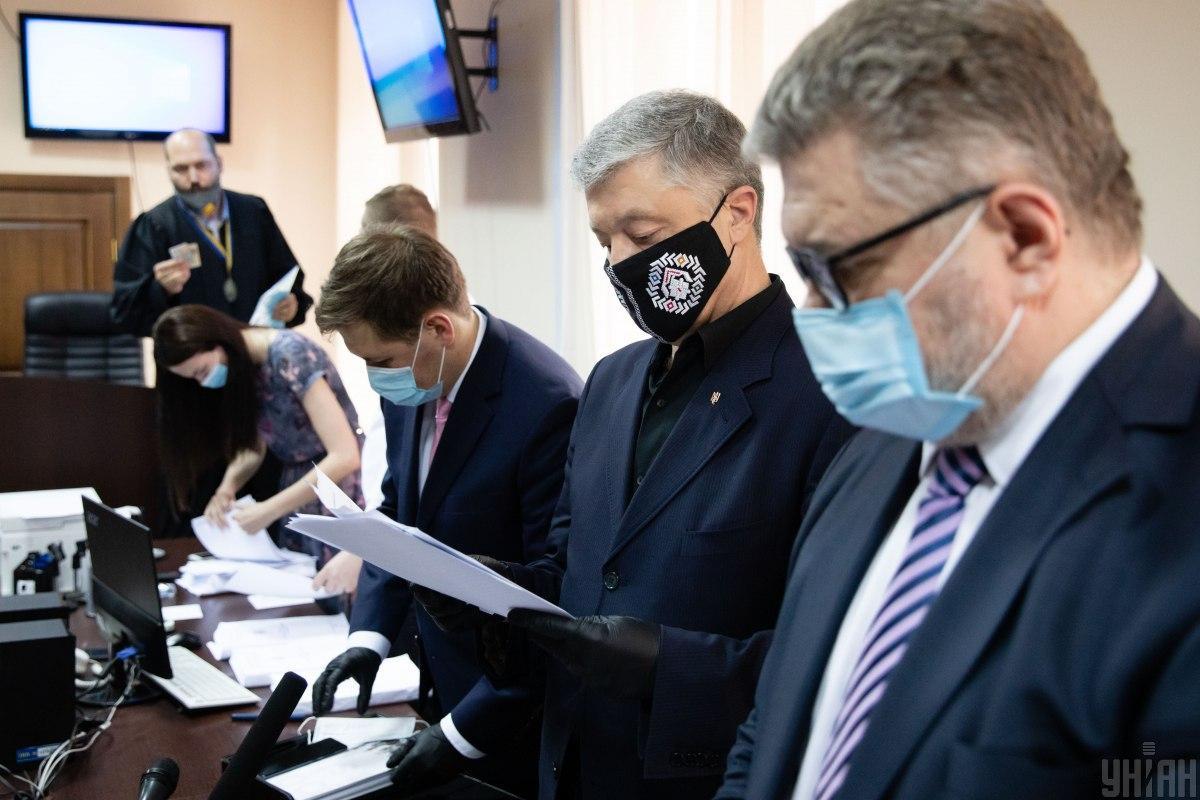 1 июля Порошенко также пришел на допрос в ГБР / Фото УНИАН