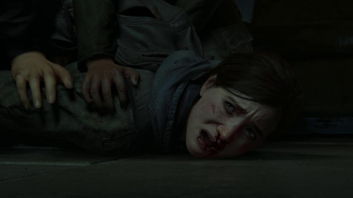 Джоэла убили на глазах у Элли / скриншот