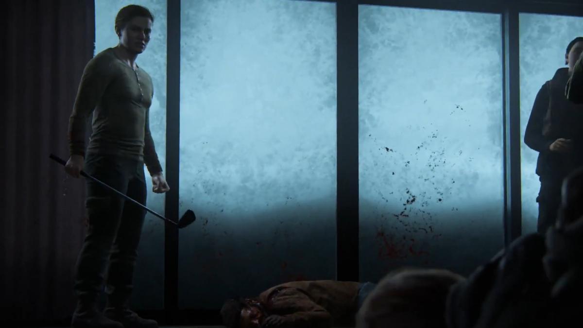 Сцена убийства Джоэла / скриншот
