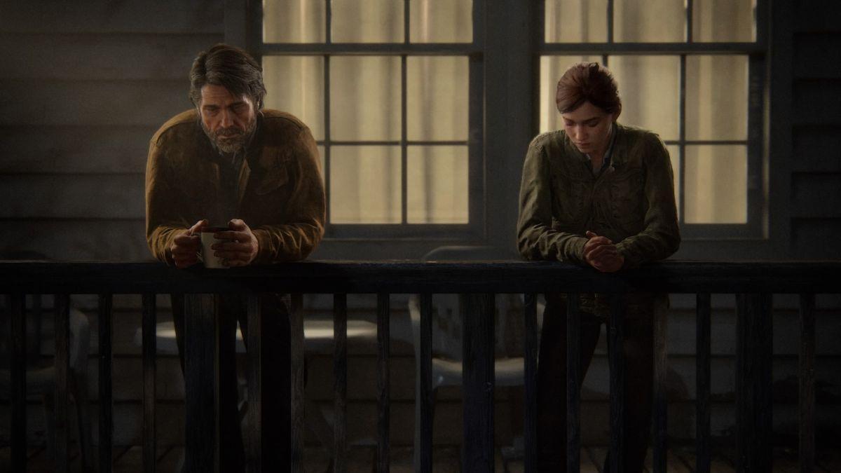 Последний разговор Джоэла и Элли / скриншот