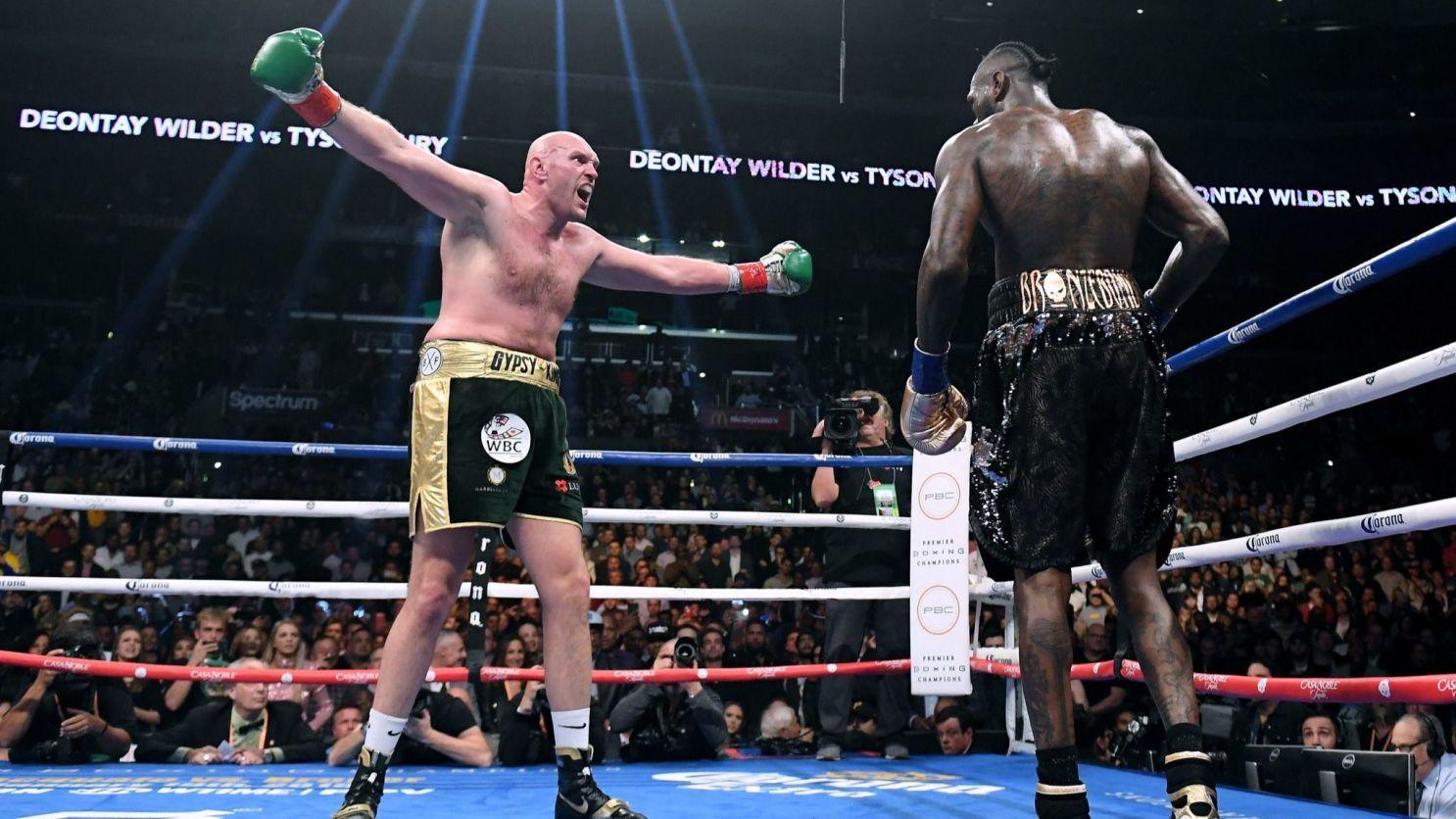 Ф'юрі виграв минулий бій у Вайлдера / фото boxingscene.com