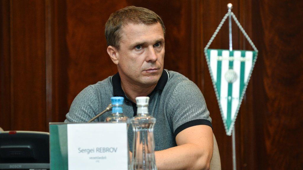 Ребров поділився очікуваннями від матчу з Динамо / фото fradi.hu