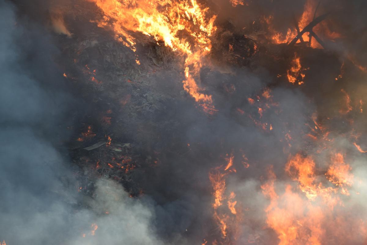 Спасатели предупредили о пожарной опасности / фото ГСЧС
