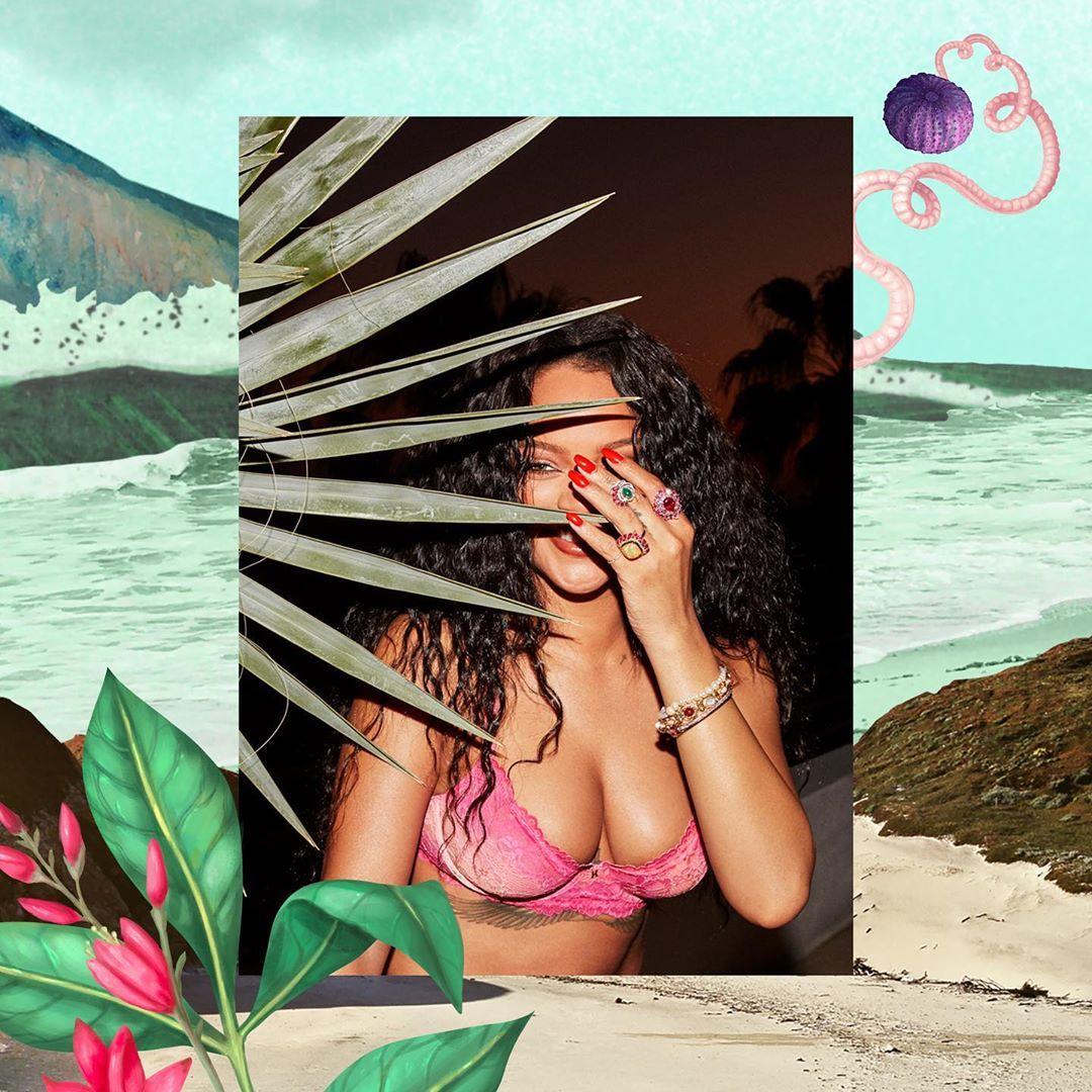 Ріанна знялася у відвертій рекламній кампанії власного бренду / Instagram Savage X Fenty