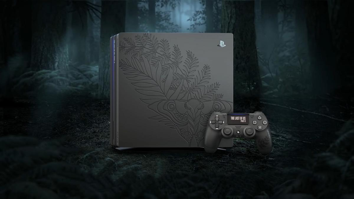 Консоль PlayStation 4 Pro в дизайне игры The Last of Us Part II / playstation.com
