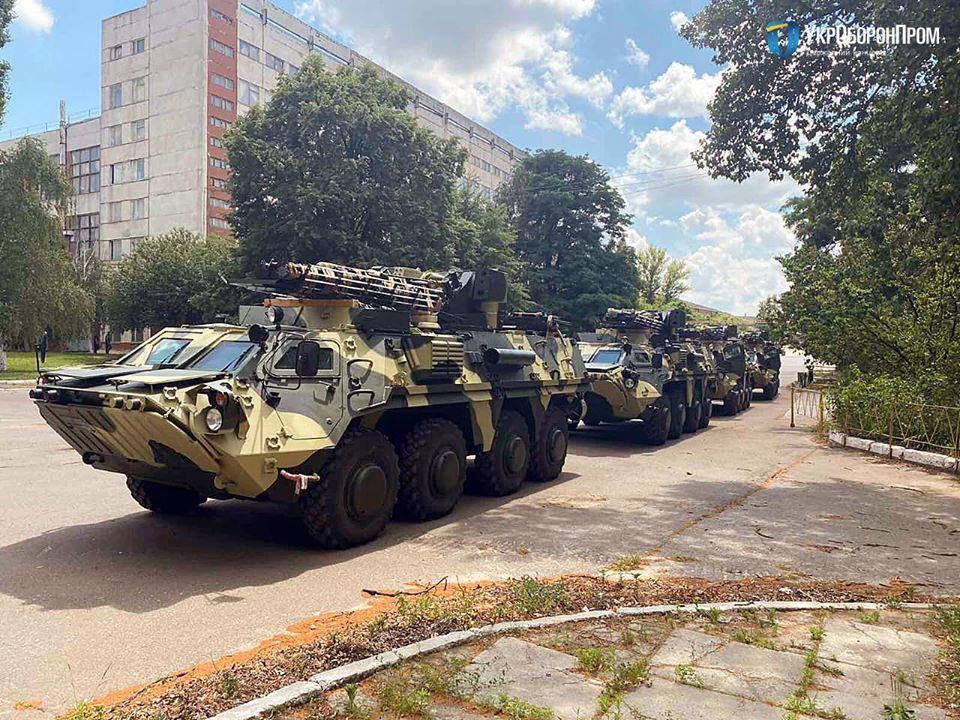 Новые бронетранспортеры / фото facebook.com/ukroboronprom