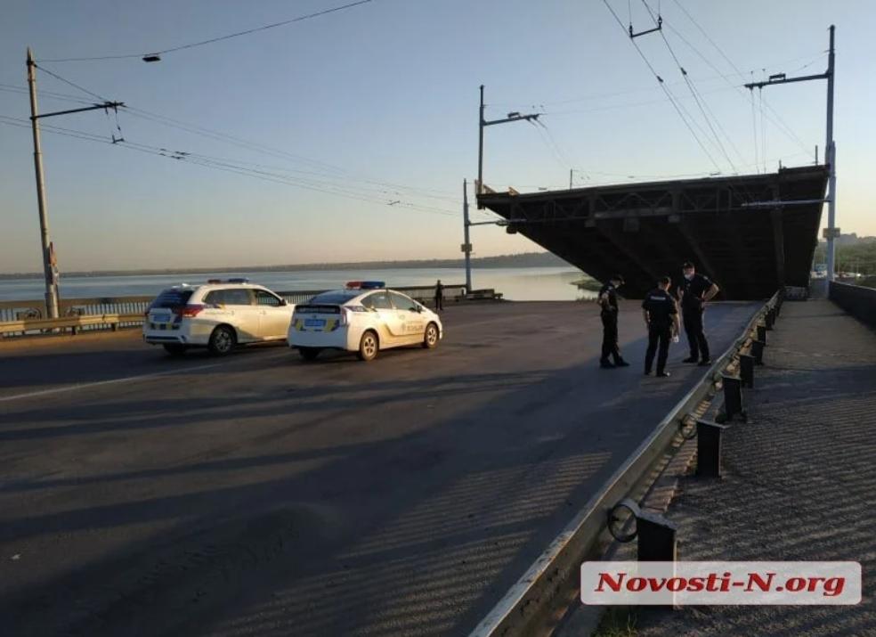 На місці чергує поліція / novosti-n.org