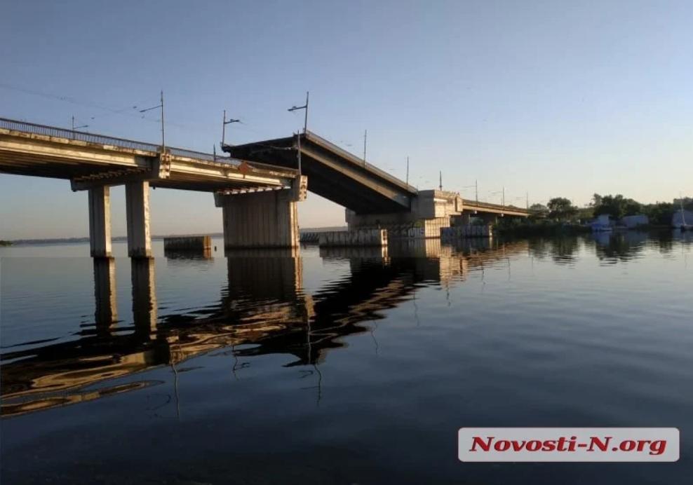 Рух по мосту виявився заблокованим / novosti-n.org