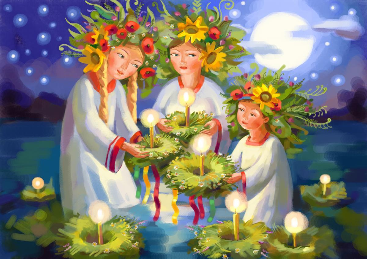 С праздником Ивана Купала / фото ua.depositphotos.com