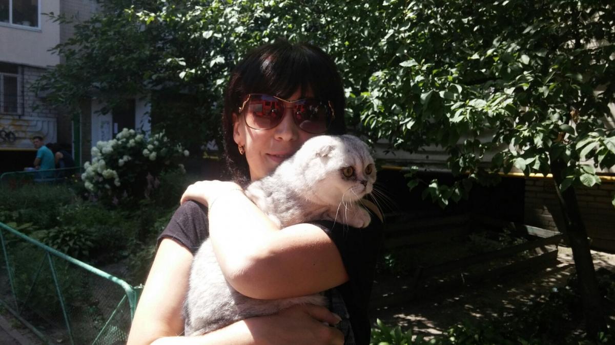 Взрыв на Позняках - спасли кошку, которая провела под завалами две недели / Olena Kryzhanivska