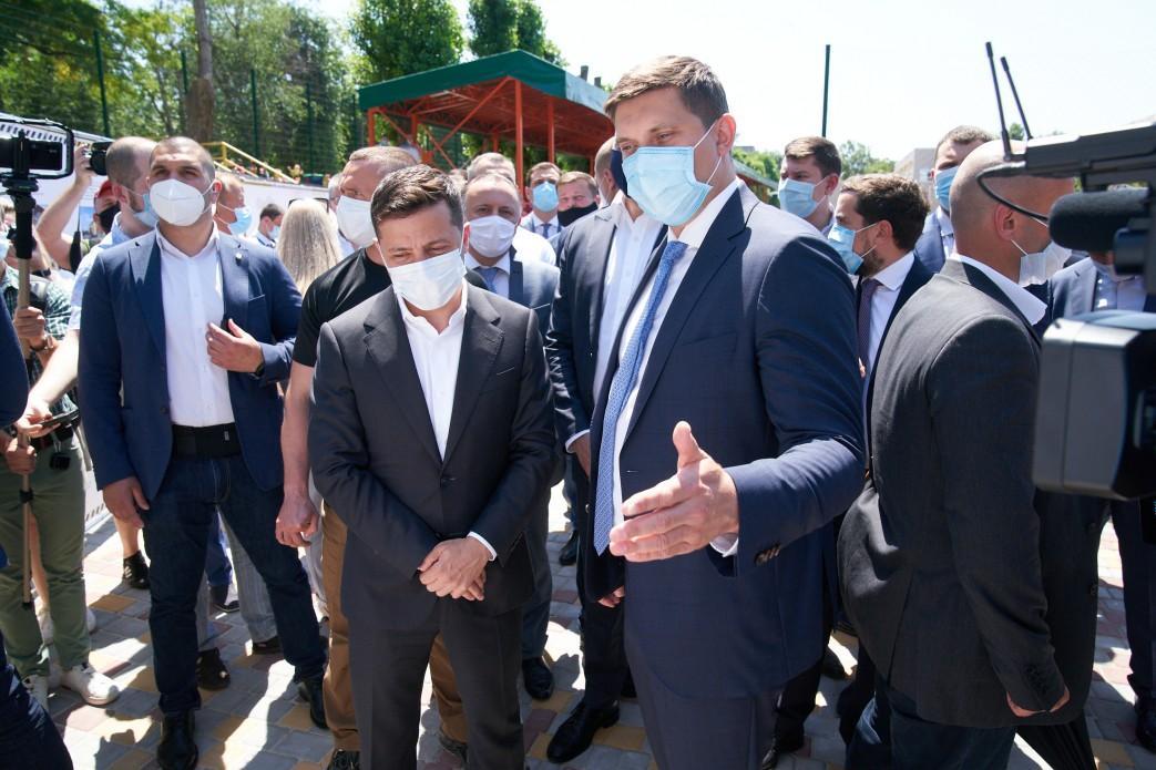 В этом году в области строят и ремонтируют 163 км дорог / president.gov.ua