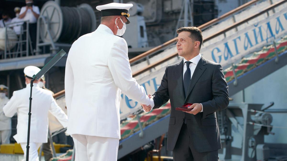 Президент наградил моряков / mil.gov.ua
