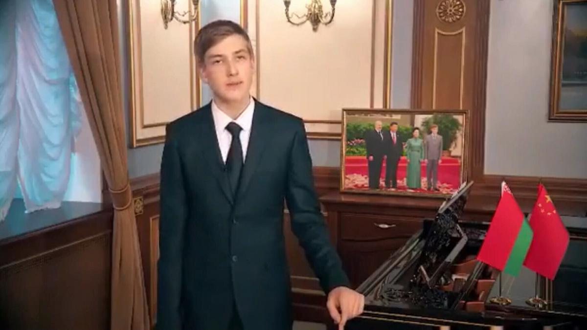 Позашлюбний син Лукашенка / скріншот