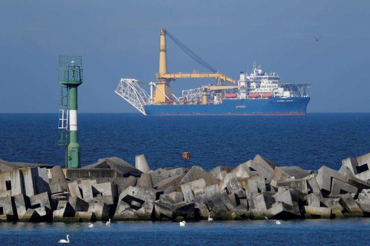 Литва закликала зупинити будівництво «Північного потоку-2»/ фото REUTERS