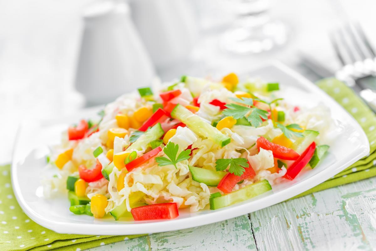 Смачний салат з пекінської капусти - рецепт / фото ua.depositphotos.com