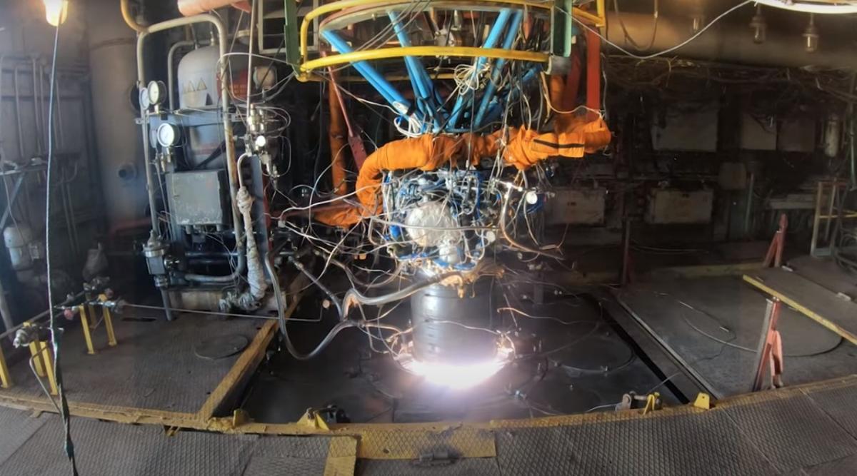 Двигатель готов к летным испытаниям в составе ступени ракеты-носителя / Скриншот