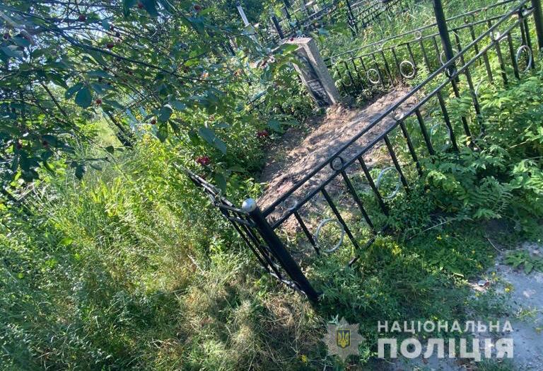 К совершению преступления причастны мужчины 19, 45 и 46-летнего возраста / фото полиция Киевской области