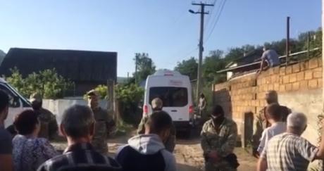 7 июля в нескольких районах оккупированного Россией Крымапрошли обыски в домах крымских татар / скриншот