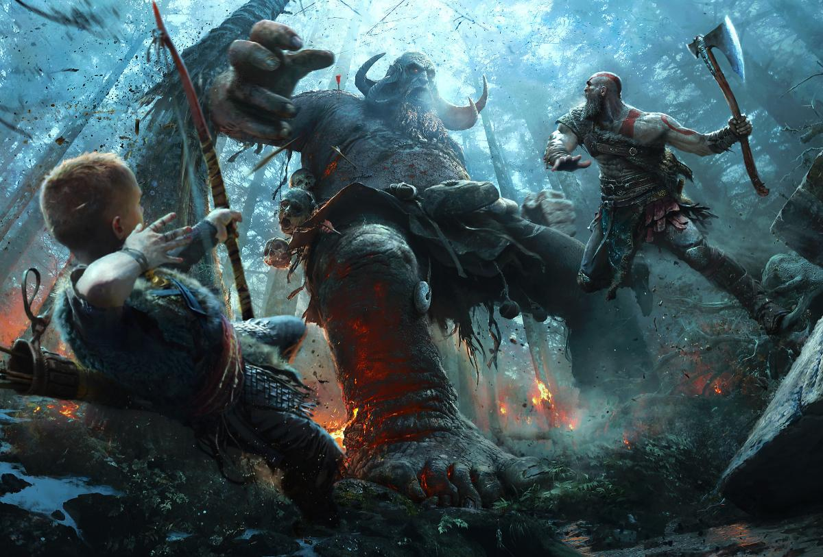 Экшн God of War вышел в 2018 году на PS4 /playstation.com