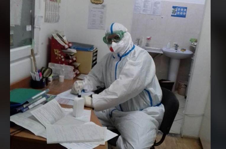 Медик рассказала об условиях труда в ужгородской больнице / Facebook, Власта Гук