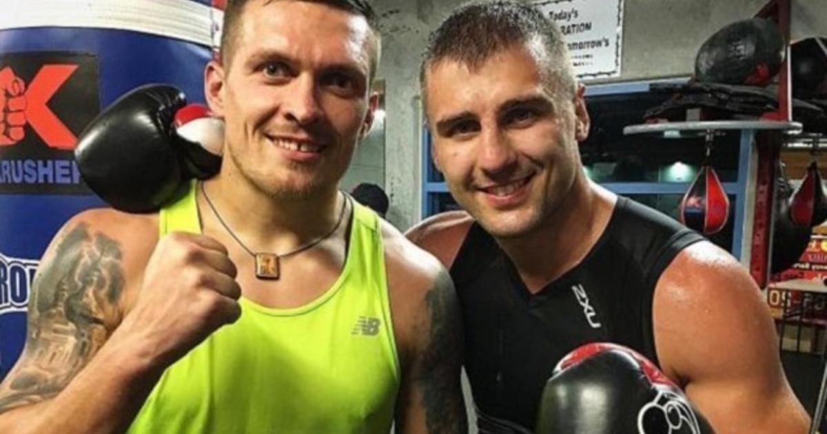 Усик і Гвоздик разом виступали за команду Українських отаманів / фото instagram.com/usykaa
