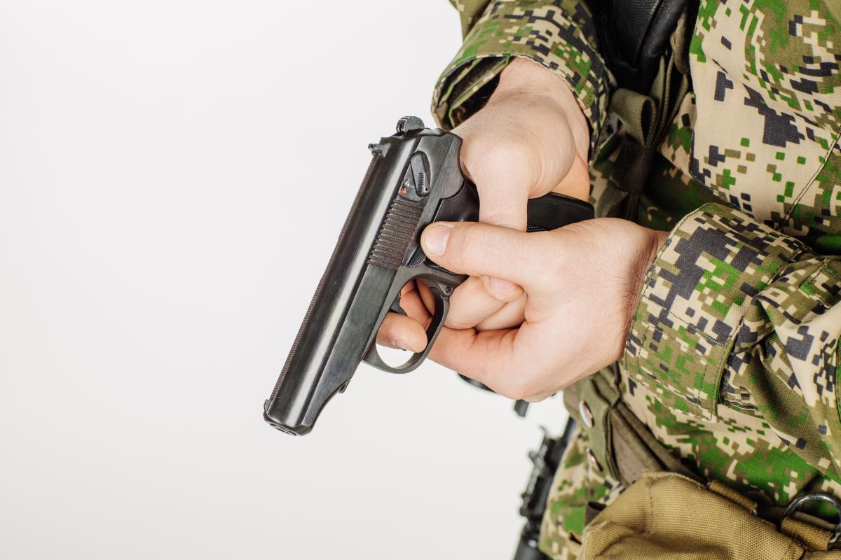 Пистолеты высылаются по запросу Украины и будут переданы ВСУ / фото ua.depositphotos.com