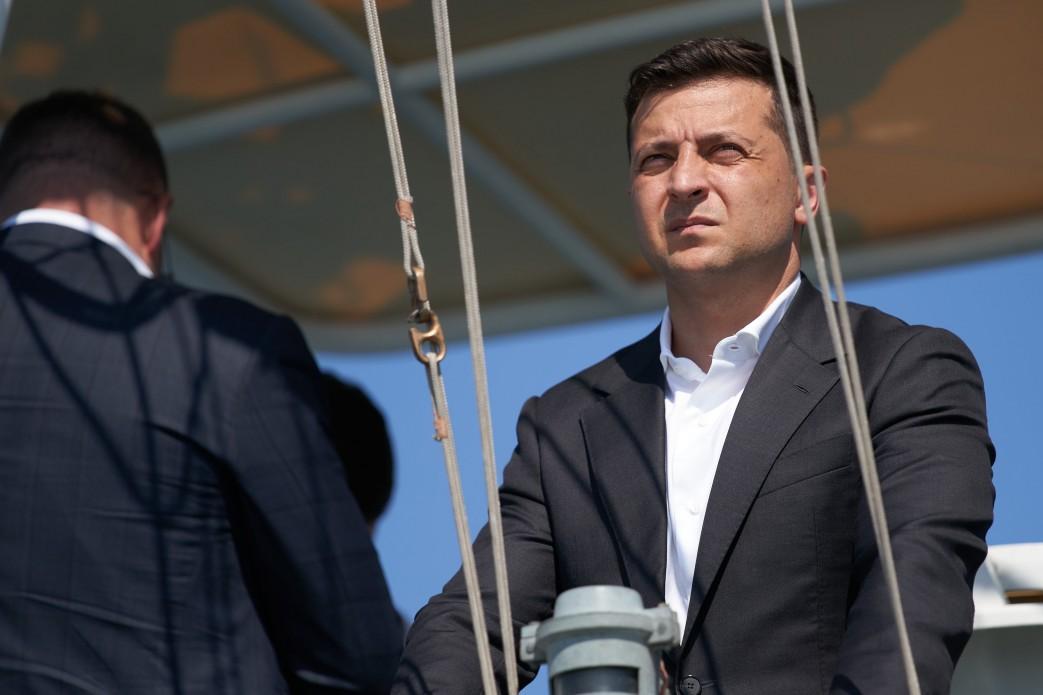 Зеленський заявив, що досягнута наприкінці липня домовленість про всеосяжне припинення вогню є найважливішою / фото president.gov.ua