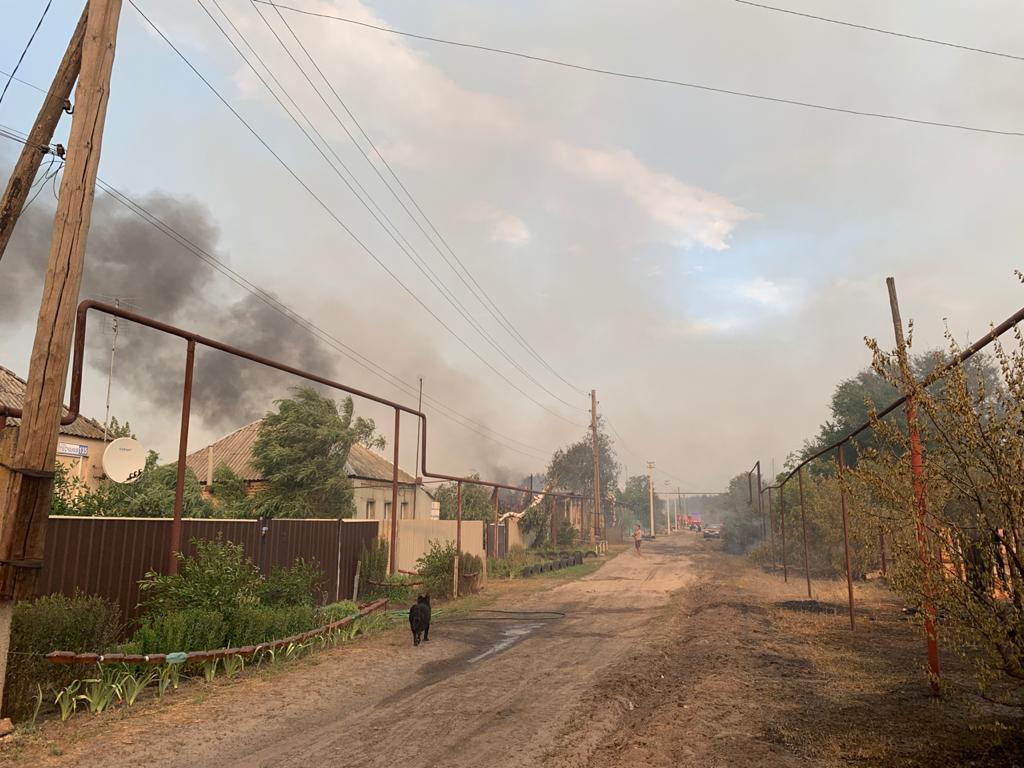Сейчас в пожарах погибло 5 человек, около 30 находятся в больницах / lg.dsns.gov.ua