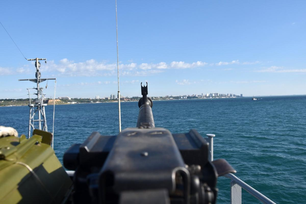 Украина готова ответить на российские учения / фото ВМС ВСУкраины