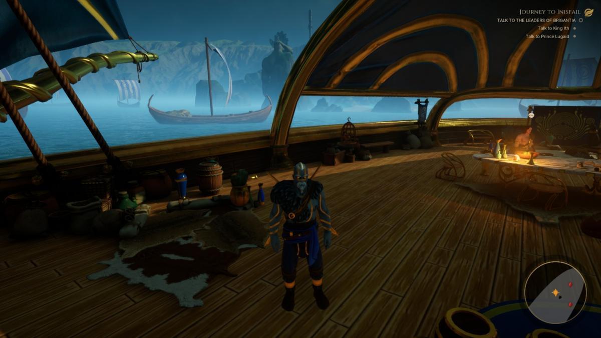 Сцена на корабле - одна из немногих, где нет багов / скриншот