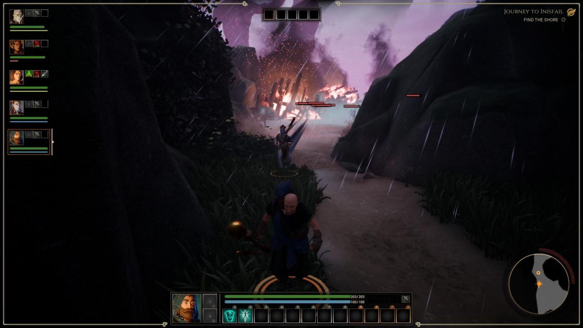 Союзники, которые убегают от врагов - фишка The Waylanders / скриншот