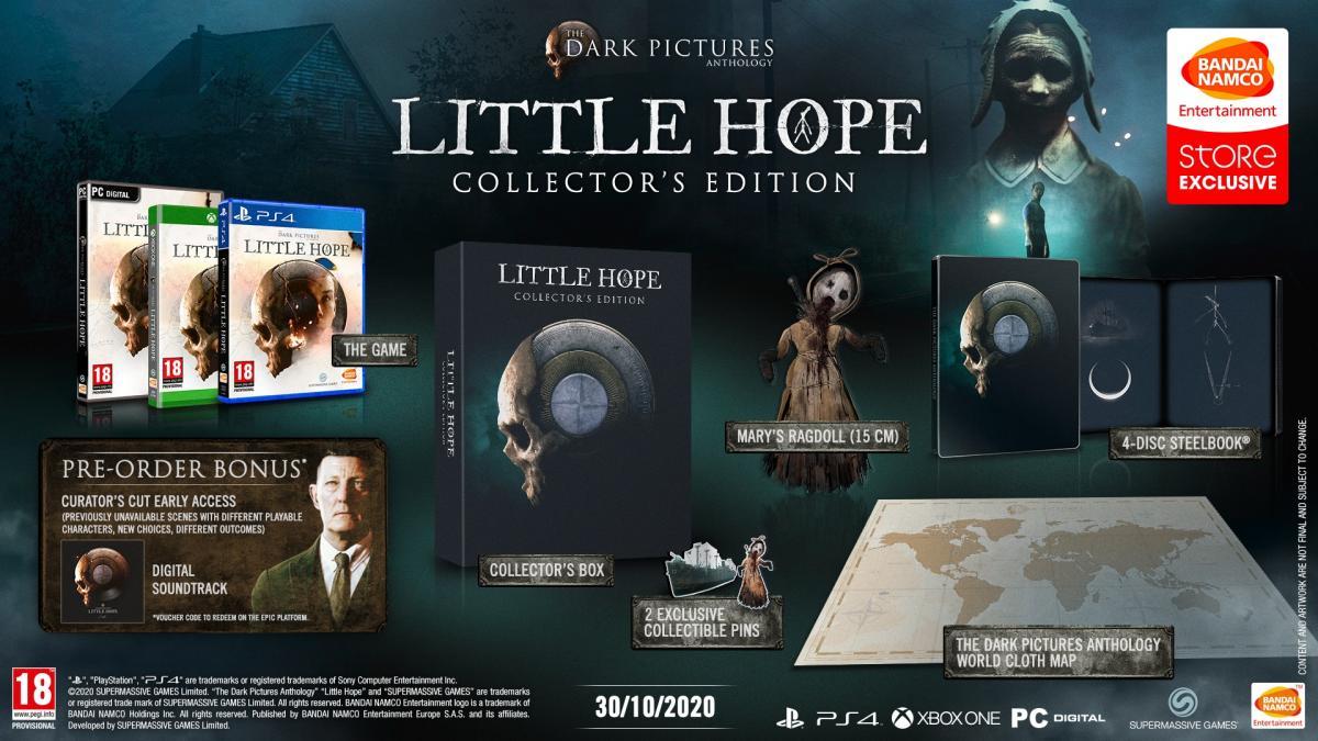Колекційне видання The Dark Pictures: Little Hope / twitter.com